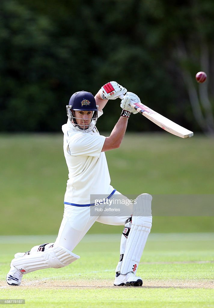<a gi-track='captionPersonalityLinkClicked' href=/galleries/search?phrase=Neil+Broom&family=editorial&specificpeople=887253 ng-click='$event.stopPropagation()'>Neil Broom</a> of Otago bats during day three of the Plunket Shield match between Otago and Central Districts on December 22, 2013 in Dunedin, New Zealand.