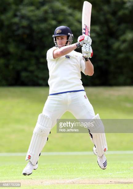 Neil Broom of Otago bats during day three of the Plunket Shield match between Otago and Central Districts on December 22 2013 in Dunedin New Zealand