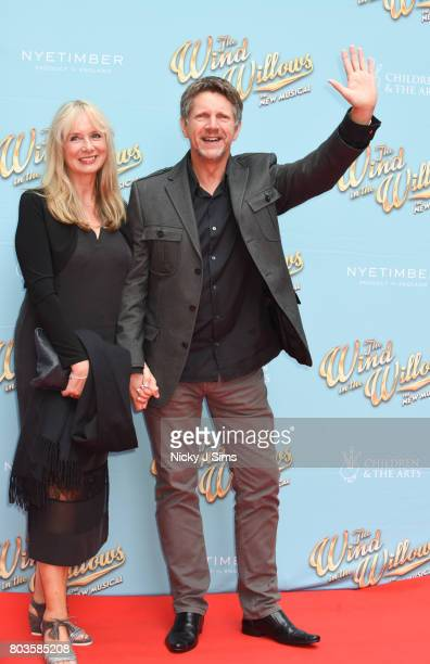 Neil Buchanan and wife attend the Gala performance of Wind In The Willows at London Palladium on June 29 2017 in London England
