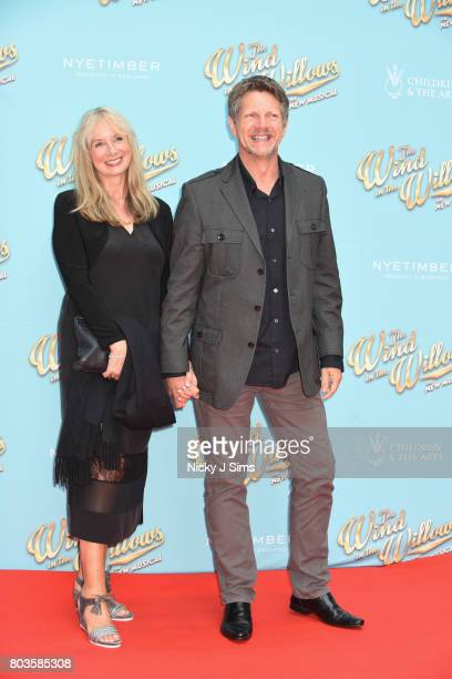 Neil Buchanan and wife attends the Gala performance of Wind In The Willows at London Palladium on June 29 2017 in London England