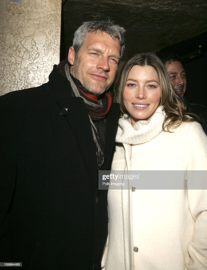 Neil Burger director and Jessica Biel during 2006 Sundance Film Festival Premiere Film Music Lounge at Cain Day 2 at Premiere Lounge in Park City...