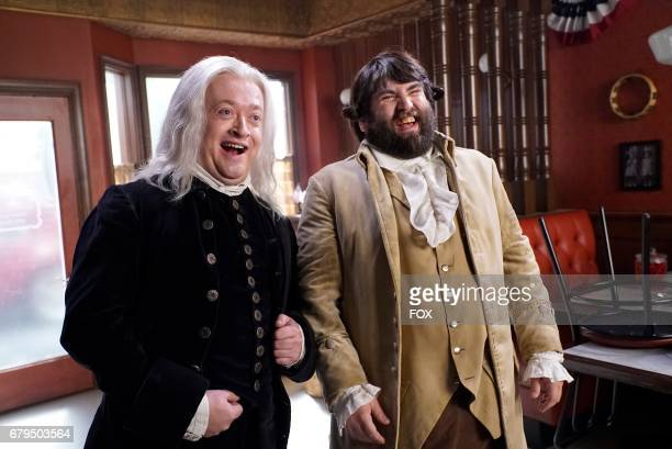 Neil Casey and John Gemberling in the 'Night Cream' episode of MAKING HISTORY airing Sunday April 30 on FOX