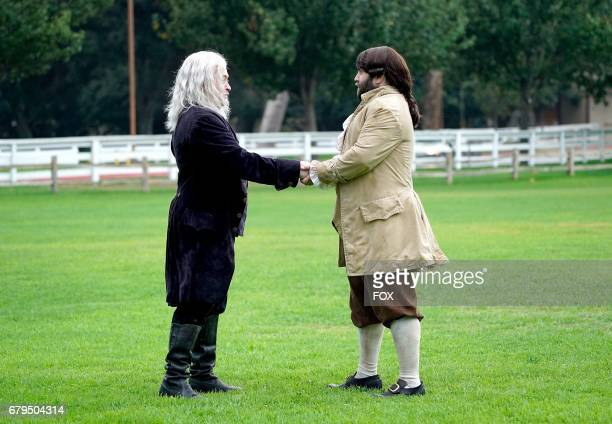 Neil Casey and John Gemberling in the 'The Duel' episode of MAKING HISTORY airing Sunday May 7 on FOX