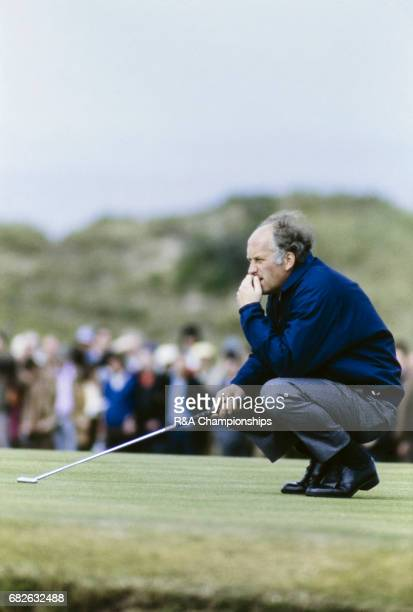 Neil Coles at the 1972 Open Championship at Muirfield