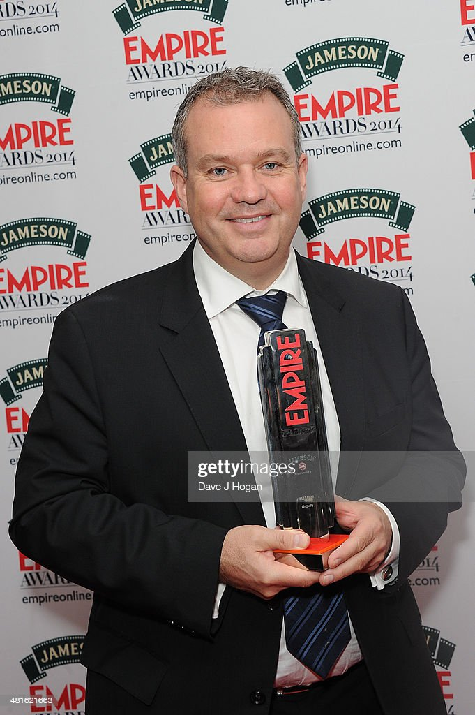 Neil Corbould poses in the press room at the Jameson Empire Film Awards 2014 at The Grosvenor House Hotel on March 30, 2014 in London, England.
