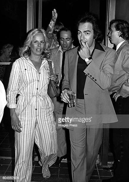 Neil Diamond and wife Marcia Murphey circa 1977 in New York City