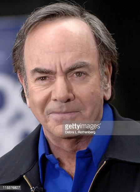 Neil Diamond during Neil Diamond Performs on the 2005 'Today' Show Summer Concert Series at Rockefeller Plaza in New York City New York United States