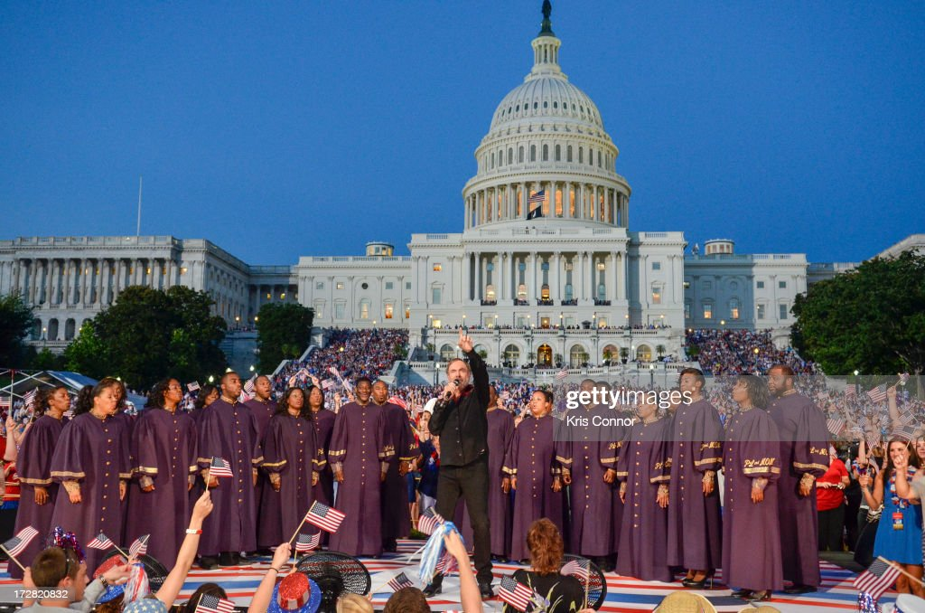 <a gi-track='captionPersonalityLinkClicked' href=/galleries/search?phrase=Neil+Diamond&family=editorial&specificpeople=210635 ng-click='$event.stopPropagation()'>Neil Diamond</a> performs during A Capitol Fourth 2013 Independence Day Concert on the west lawn of the US Capitol on July 4, 2013 in Washington, DC.