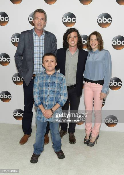 Neil Flynn Atticus Shaffer Charlie McDermott and Eden Sher attend the 2017 Summer TCA Tour Disney ABC Television Group at The Beverly Hilton Hotel on...