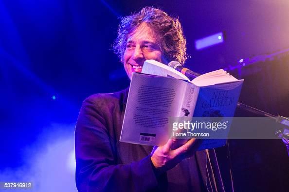 Neil Gaiman performs at KOKO on June 3 2016 in London England