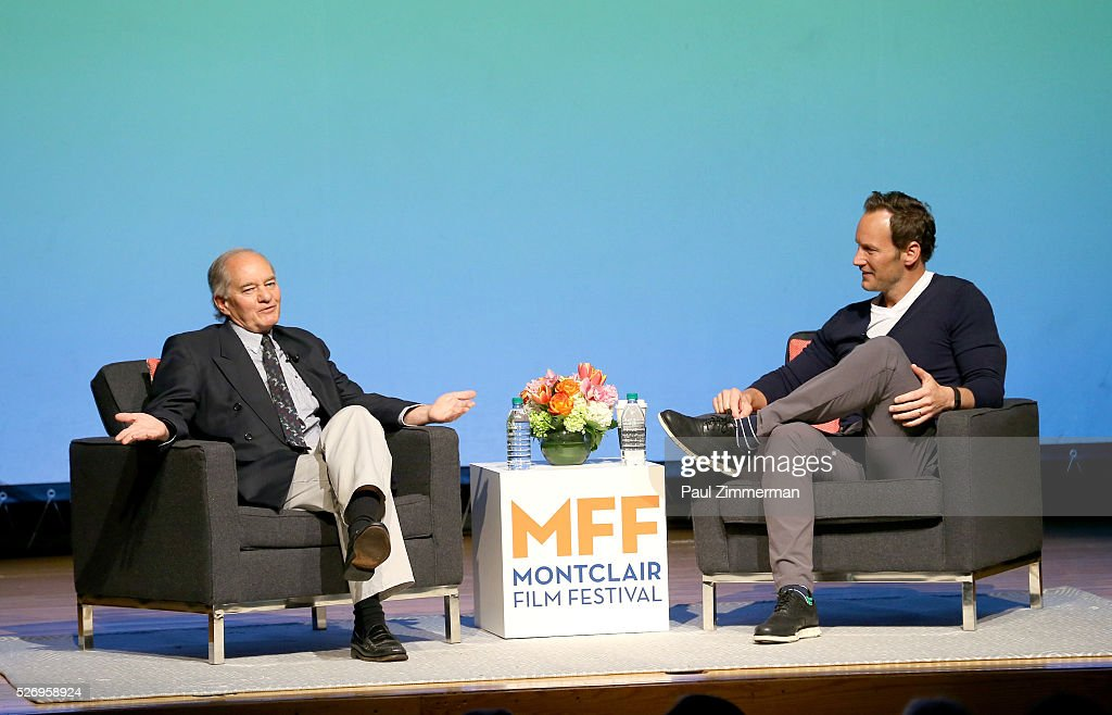 Neil Genzlinger (L) and Patrick Wilson speak onstage at the Montclair Film Festival 2016 - Day 3 Conversations at Montclair Kimberly Academy on May 1, 2016 in Montclair, New Jersey.