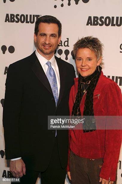Neil Giuliano and Amanda Bearse attend 17th Annual GLAAD Media Awards at Marriott Marquis on March 27 2006 in New York City