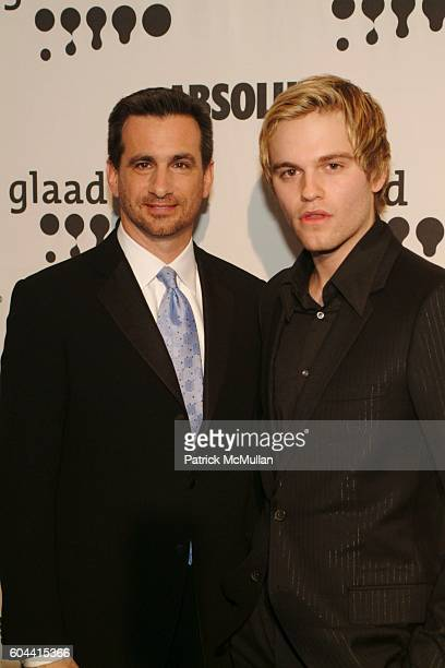 Neil Giuliano and Van Hansis attend 17th Annual GLAAD Media Awards at Marriott Marquis on March 27 2006 in New York City