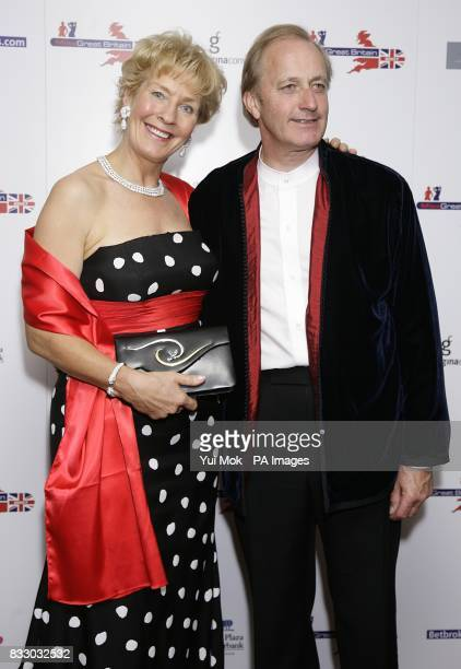 Neil Hamilton and his wife Christine arrive for the Miss Great Britain 2007 ceremony at the Grosvenor House Hotel in cental London Picture date...