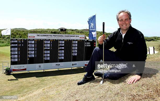 Neil Holman of Torbay poses for a photograph after playing in the Glenmuir PGA Professional Championship Regional Qualifier at Saunton Golf Club on...