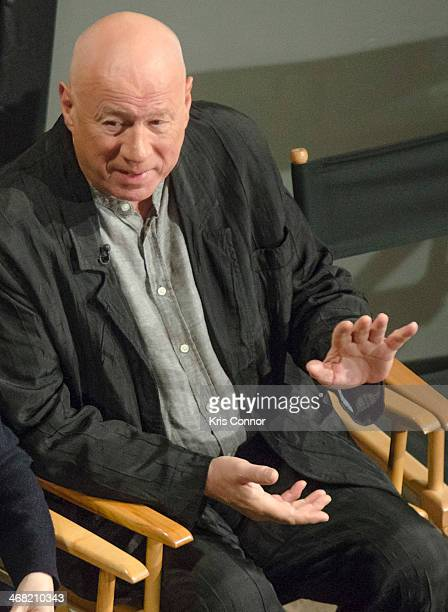 Neil Innes attends '50 Years The Beatles' panel discussion at Ed Sullivan Theater on February 9 2014 in New York City