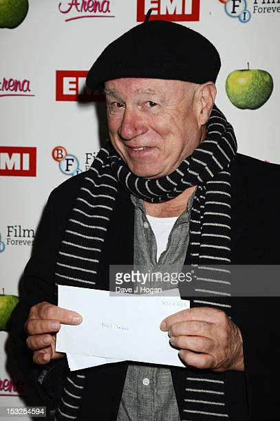 Neil Innes attends a gala screening of Magical Mystery Tour at The BFI Southbank on October 2 2012 in London England