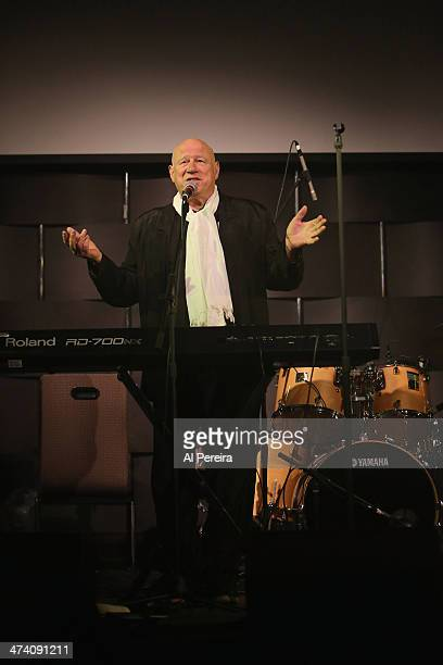 Neil Innes performs at the Fest For Beatles Fans 2014 at Grand Hyatt New York on February 8 2014 in New York City