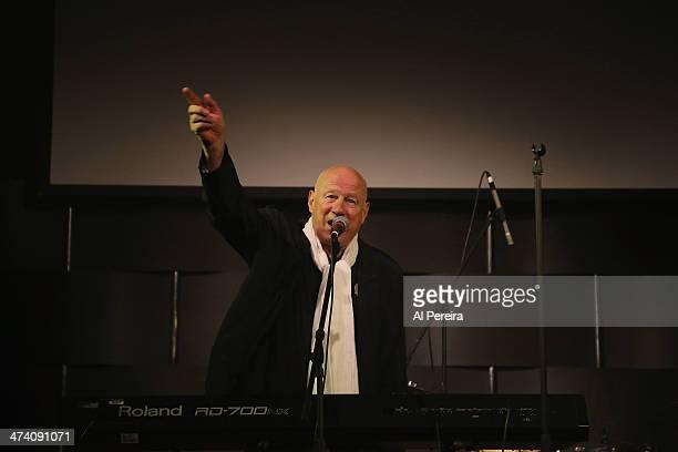 Neil Innes performs on keyboards at the Fest For Beatles Fans 2014 at Grand Hyatt New York on February 8 2014 in New York City