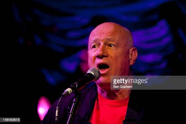 Neil Innes performs on stage during Camp Bestival at Lulworth Castle on July 28 2012 in Wareham United Kingdom