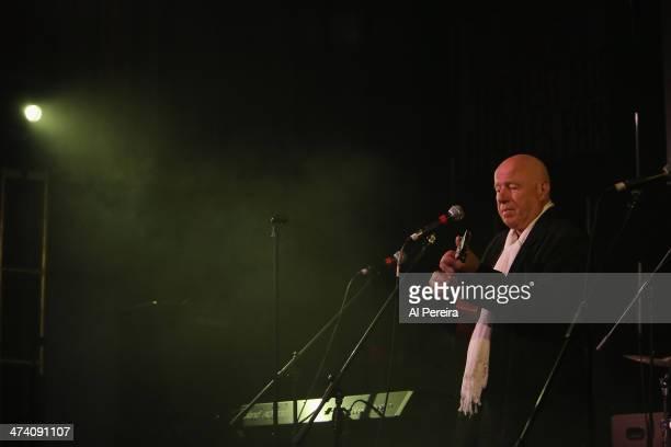 Neil Innes performs on Ukelele at the Fest For Beatles Fans 2014 at Grand Hyatt New York on February 8 2014 in New York City
