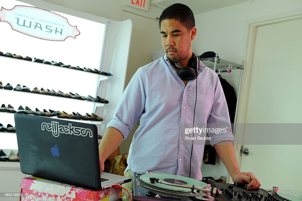 DJ Neil Jackson at the Chinese Laundry Fall 2013 Preview hosted by Kristin Cavallari on March 20, 2013 in New York City.