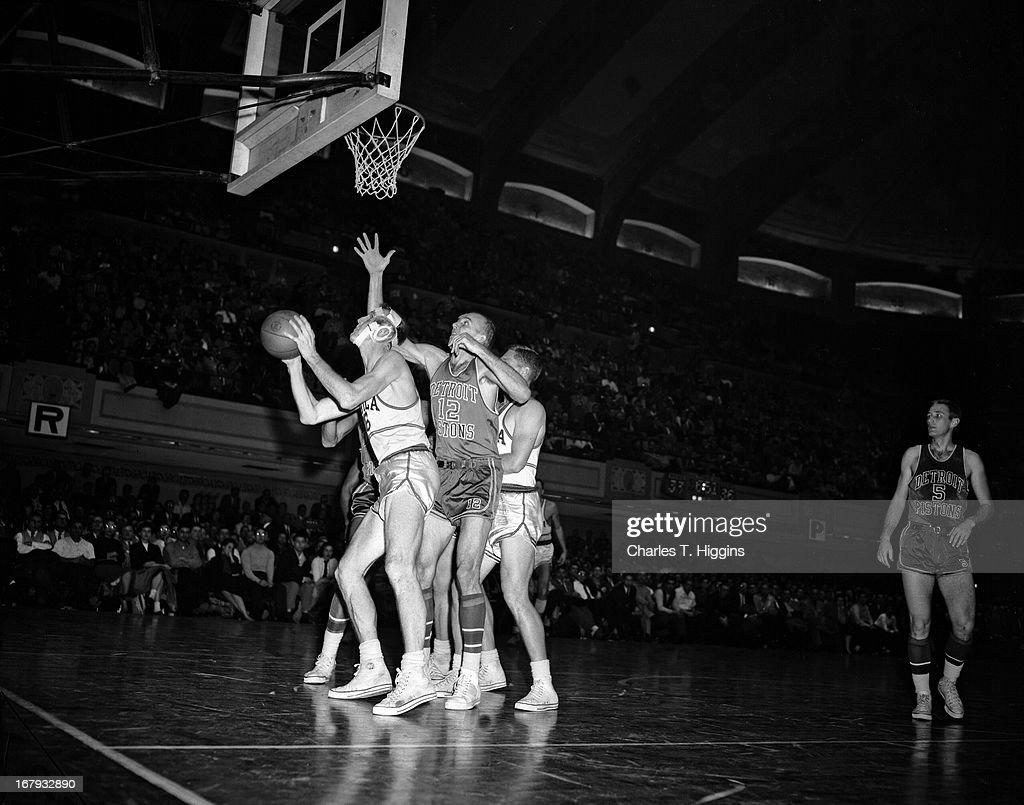 Detroit Pistons v Philadelphia Warriors