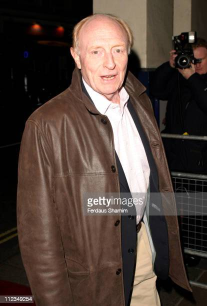 Neil Kinnock during 'An Evening for Mo and Friends' to Remember Mo Mowlam November 20 2005 at Theatre Royal in London Great Britain