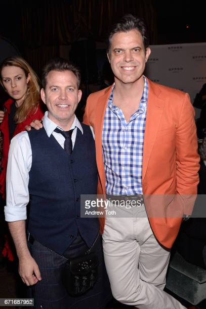 Neil Mandt and Michael Mandt attend the after party for Dog Years presented by EFFEN Vodka during 2017 Tribeca Film Festival at The Griffin PopUp on...
