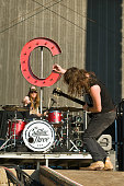 Neil Mason and Jaren Johnston of The Cadillac Three performs perform on Day 2 of Country Thunder Wisconsin on July 22 2016 in Twin Lakes Wisconsin