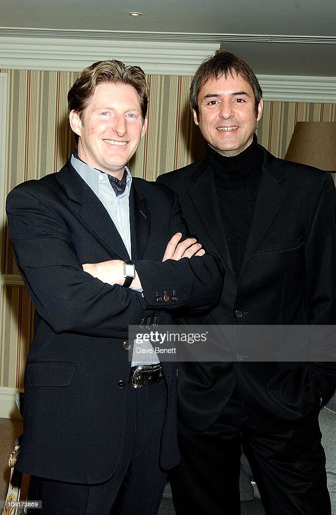 Neil Morrisey And Adrian Dunbar, 'Triggermen' Premiere At The Charlotte Street Hotel In London