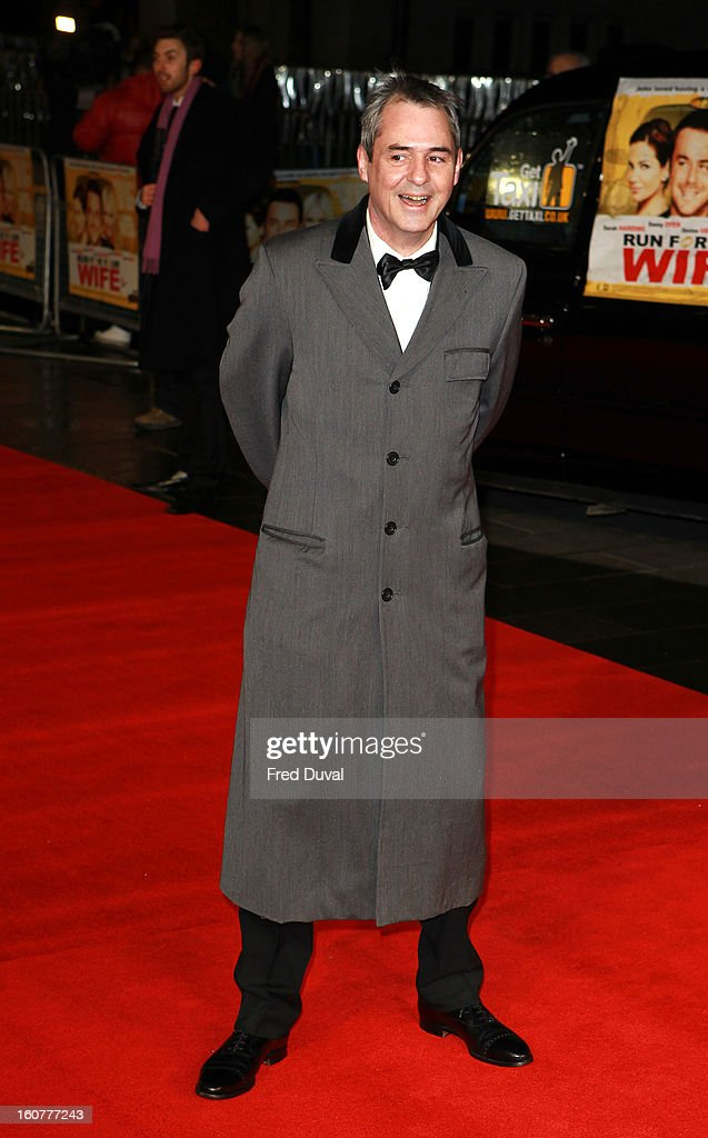 Neil Morrisey attends the premiere of 'Run For Your Wife' at Odeon Leicester Square on February 5, 2013 in London, England.
