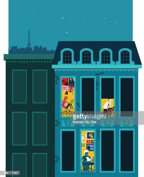 Illustration Paris Living Pictures Getty Images