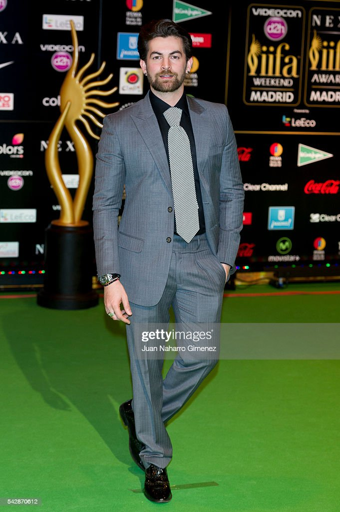 <a gi-track='captionPersonalityLinkClicked' href=/galleries/search?phrase=Neil+Nitin+Mukesh&family=editorial&specificpeople=5642805 ng-click='$event.stopPropagation()'>Neil Nitin Mukesh</a> attends IIFA Awards 2016 - Rocks Green Carpet at Ifema on June 24, 2016 in Madrid, Spain.