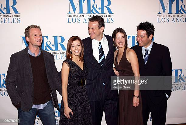 Neil Patrick Harris Alyson Hannigan Jason Segel Cobi Smulders and Josh Radnor of 'How I Met Your Mother'
