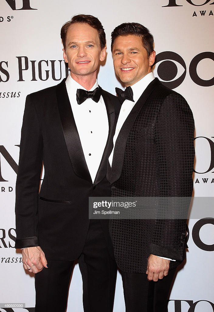<a gi-track='captionPersonalityLinkClicked' href=/galleries/search?phrase=Neil+Patrick+Harris&family=editorial&specificpeople=210509 ng-click='$event.stopPropagation()'>Neil Patrick Harris</a> and <a gi-track='captionPersonalityLinkClicked' href=/galleries/search?phrase=David+Burtka&family=editorial&specificpeople=572242 ng-click='$event.stopPropagation()'>David Burtka</a> attend American Theatre Wing's 68th Annual Tony Awards at Radio City Music Hall on June 8, 2014 in New York City.