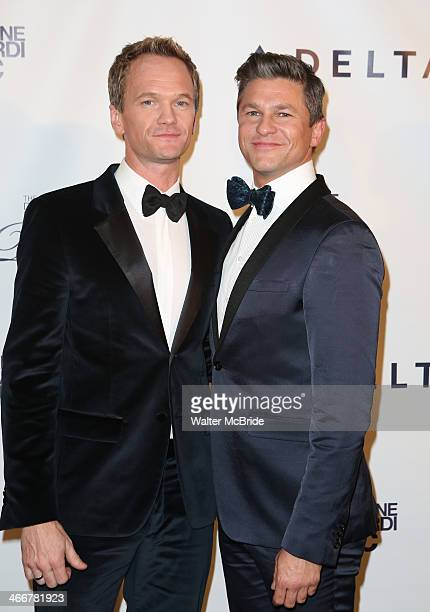 Neil Patrick Harris and David Burtka attends The Drama League's 30th Annual Musical celebration of Broadway honoring Neil Patrick Harris at The...