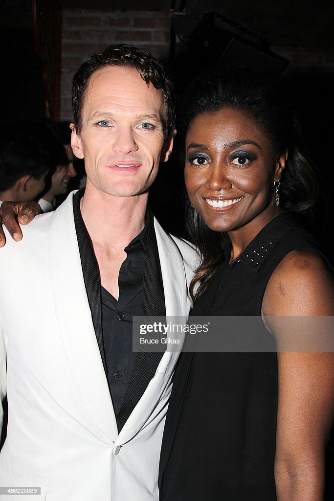 Neil Patrick Harris and Patina Miller attend the Broadway opening night After Party for 'Hedwig And The Angry Inch' at Tao Downtown at The Maritime Hotel on April 22, 2014 in New York City.