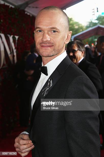 Neil Patrick Harris attends 70th Annual Tony Awards Arrivals at Beacon Theatre on June 12 2016 in New York City