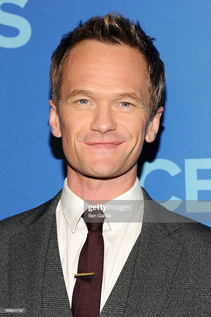 <a gi-track='captionPersonalityLinkClicked' href=/galleries/search?phrase=Neil+Patrick+Harris&family=editorial&specificpeople=210509 ng-click='$event.stopPropagation()'>Neil Patrick Harris</a> attends CBS 2013 Upfront Presentation at The Tent at Lincoln Center on May 15, 2013 in New York City.
