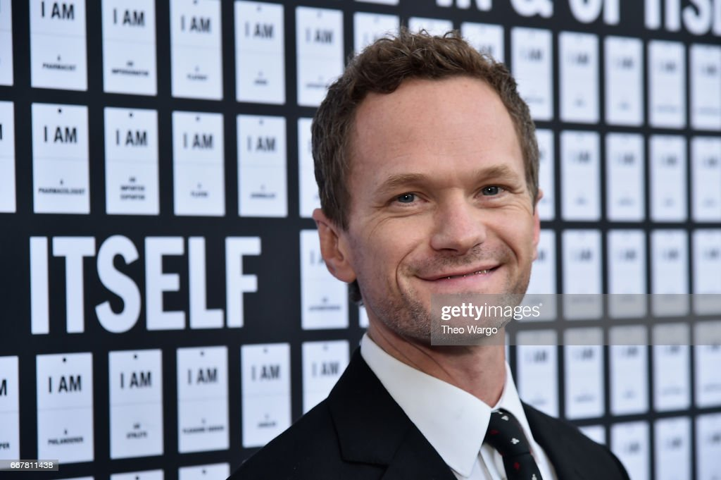 Neil Patrick Harris attends 'In & Of Itself' Opening Night - Arrivals at Daryl Roth Theatre on April 12, 2017 in New York City.