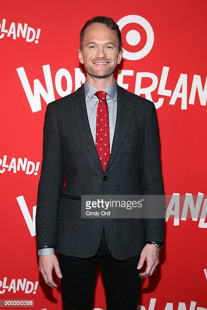 Neil Patrick Harris attends Target Wonderland VIP event on December 7 2015 at Target Wonderland 70 10th Avenue in New York City