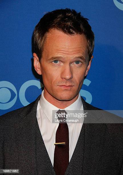 Neil Patrick Harris attends the 2013 CBS Upfront at The Tent at Lincoln Center on May 15 2013 in New York City