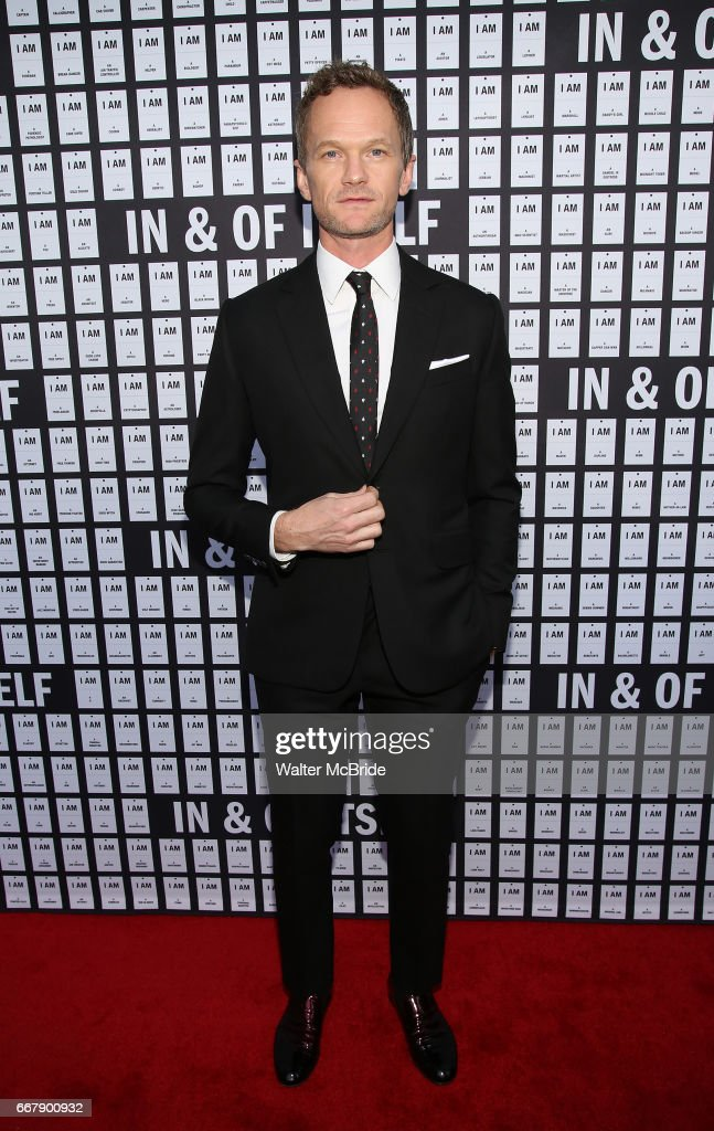 Neil Patrick Harris attends the opening night of 'In & Of Itself' at the Daryl Roth Theatre on April 12, 2017 in New York City.