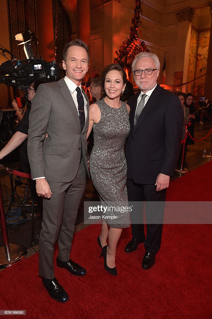 Neil Patrick Harris, Diane Lane, and Wolf Blitzer attend CNN Heroes Gala 2016 at the American Museum of Natural History on December 11, 2016 in New York City. 26362_012
