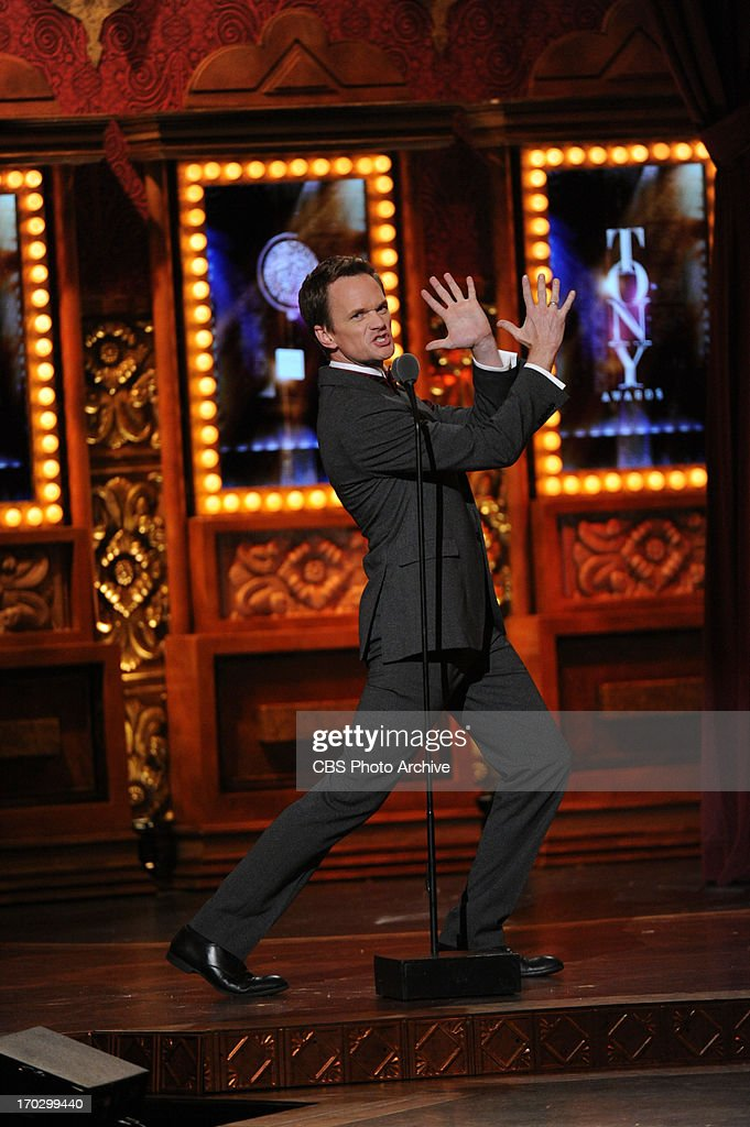 Neil Patrick Harris during THE 67TH ANNUAL TONY AWARDS broadcast live from Radio City Music Hall in New York City, Sunday, June 9 (8:00-11:00 PM, live ET/delayed PT) on the CBS Television Network.