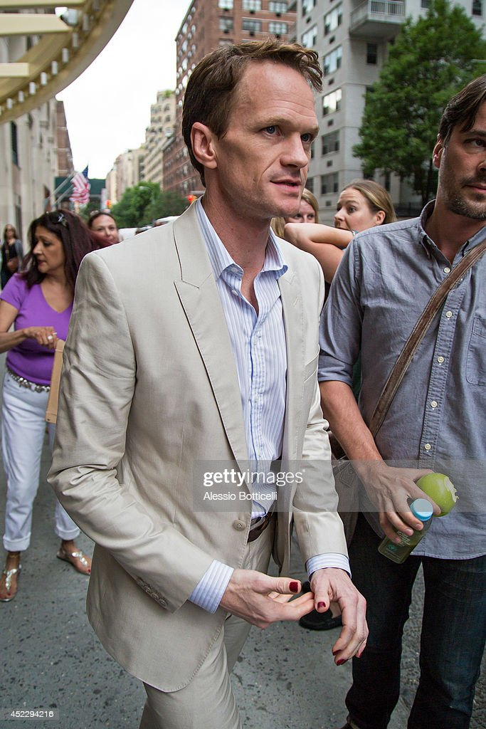 Neil Patrick Harris is seen at Huffington Post Live on July 17, 2014 in New York City.