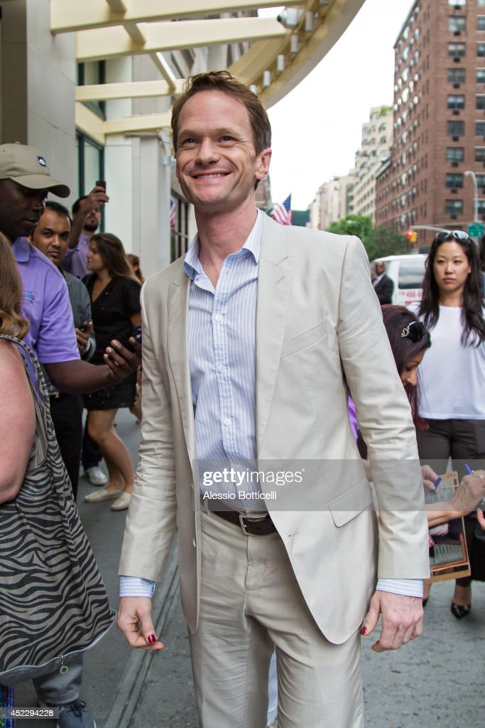 <a gi-track='captionPersonalityLinkClicked' href=/galleries/search?phrase=Neil+Patrick+Harris&family=editorial&specificpeople=210509 ng-click='$event.stopPropagation()'>Neil Patrick Harris</a> is seen at Huffington Post Live on July 17, 2014 in New York City.