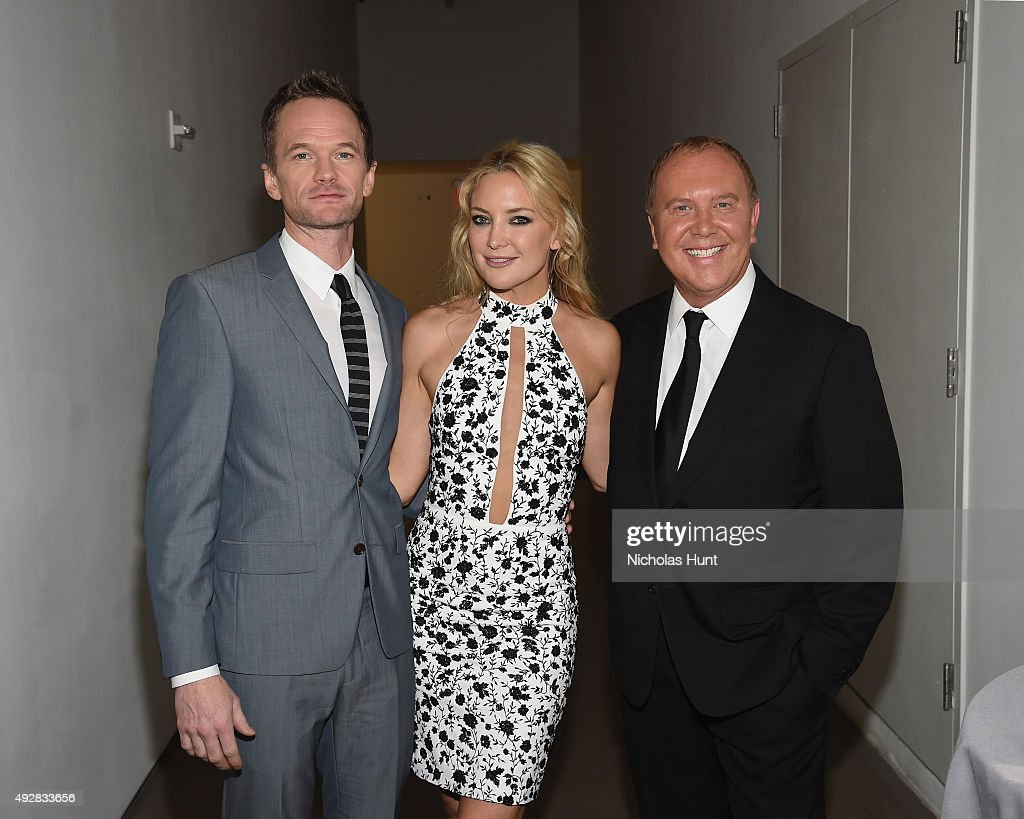 Neil Patrick Harris, Kate Hudson, and Michael Kors attend God's Love We Deliver, Golden Heart Awards at Spring Studio on October 15, 2015 in New York