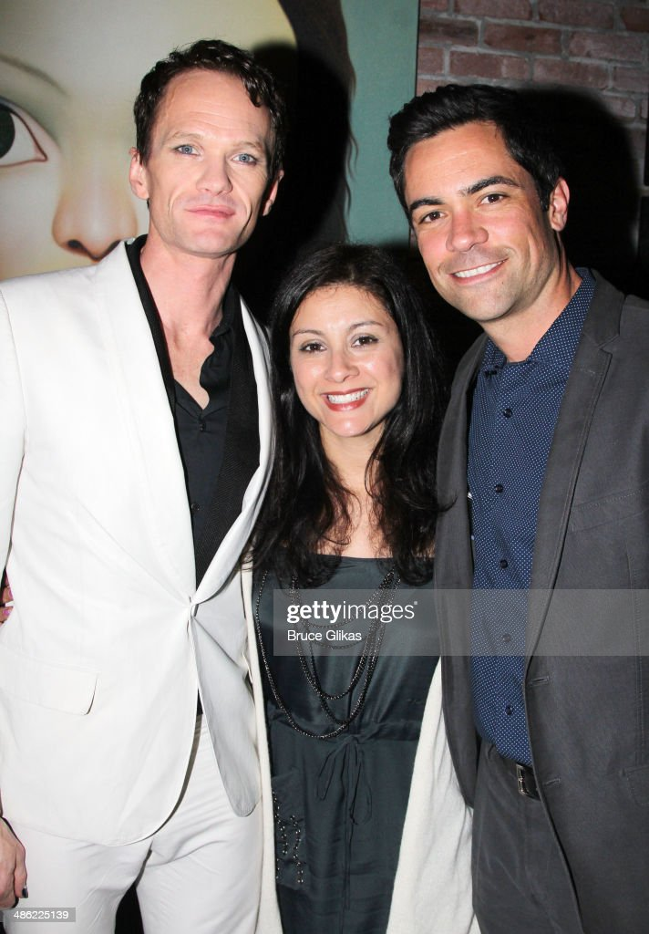 <a gi-track='captionPersonalityLinkClicked' href=/galleries/search?phrase=Neil+Patrick+Harris&family=editorial&specificpeople=210509 ng-click='$event.stopPropagation()'>Neil Patrick Harris</a>, Lily Pino and <a gi-track='captionPersonalityLinkClicked' href=/galleries/search?phrase=Danny+Pino&family=editorial&specificpeople=240258 ng-click='$event.stopPropagation()'>Danny Pino</a> attend the Broadway opening night After Party for 'Hedwig And The Angry Inch' at Tao Downtown at The Maritime Hotel on April 22, 2014 in New York City.